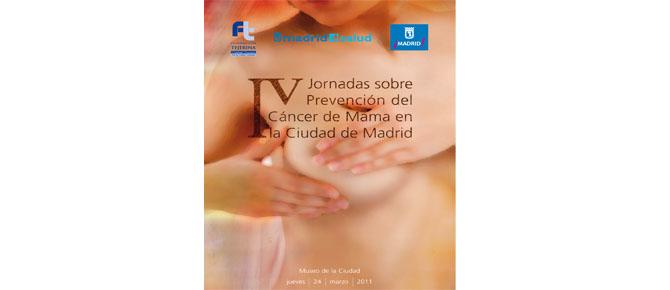 IV Jornadas de Prevención del Cáncer de Mama en la ciudad de Madrid